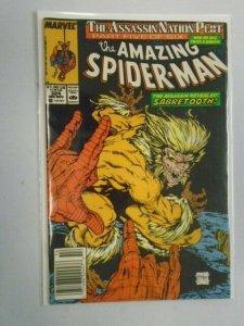 Amazing Spider-Man #324 The Assassin Nation Plot Part 5 Newsstand 5.0 (1989)