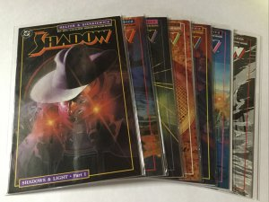 The Shadow 1-19 Annual 1 2 Lot Set Run Nm Near Mint Dc Comics
