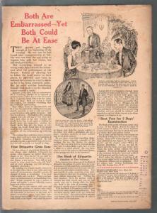 Judge 1/13/1923-early comic art-John Held Jr-FN+