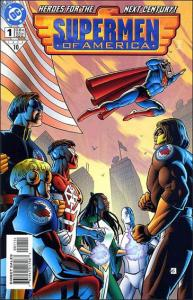 DC SUPERMEN OF AMERICA (1999 Series) #1b VF/NM Standard cover