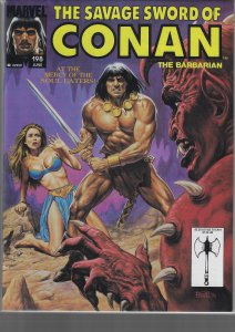 Savage Sword of Conan #198 (Marvel, 1992)