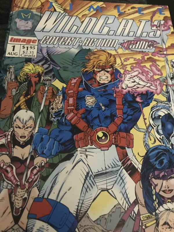 Image Wildcats #1 Mint Covert Action Teams Hot