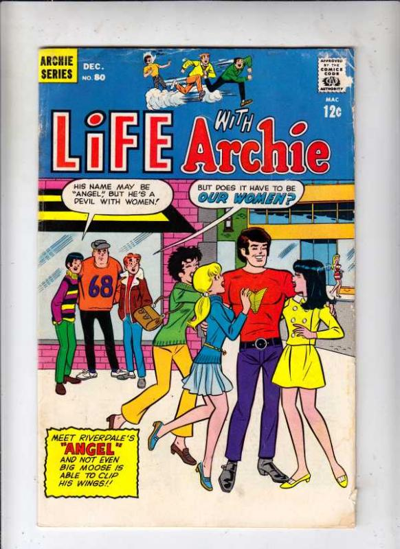 Life with Archie #80 (Dec-68) VF/NM High-Grade Archie, Jughead, Betty, Veroni...