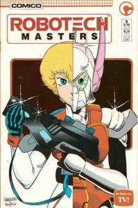 Robotech Masters #9 FN; COMICO | save on shipping - details inside