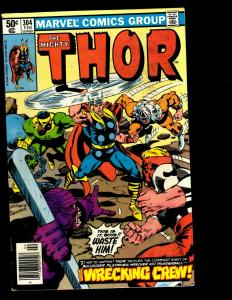 10 Thor Marvel Comics # 308 299 300 301 302 303 304 305 306 307 Spider-Man DS3