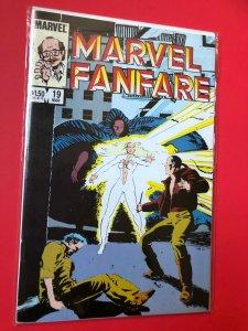 MARVEL FANFARE V1 #19 1982 MARVEL /  NM CONDITION