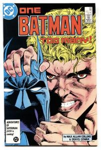 BATMAN #403-comic book 1986-DC VF+