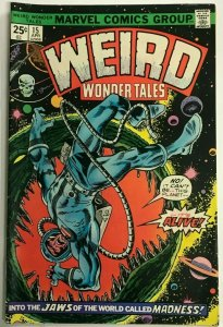 WEIRD WONDER TALES#15 FN/VF 1976 MARVEL BRONZE AGE COMICS
