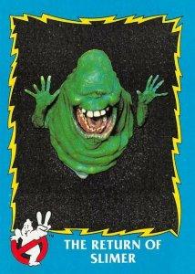 1989 Topps Ghostbusters #51 The Return Of Slimer