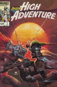 Amazing High Adventure #1 FN; Marvel | save on shipping - details inside