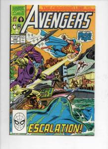 AVENGERS #322, VF, Captain America, Crossing Line, 1963 1990, Marvel