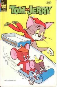 TOM & JERRY 341 VF- COMICS BOOK