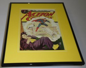 Action Comics #79 Framed 11x14 Repro Cover Display Superman