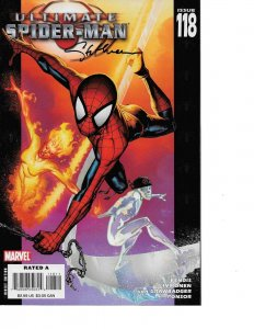Ultimate Spider-Man #118 signed Stuart Immonen NM COA INCLUDED