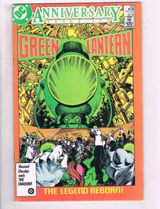 Green Lantern #200 VF DC Comics Anniversary Copper Age Comic Book 1985 DE14