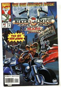 Biker Mice From Mars #1 Marvel First issue comic book NM-