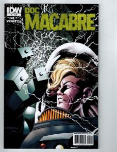 Doc Macabre # 2 IDW Comic Book Niles & Wrightson Issue Zombies HOT Series S99