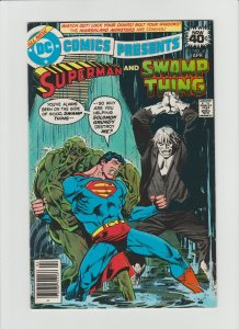 DC Comics Presents #8 (1979) VF+ 8.5 Rare Newsstand Edition!