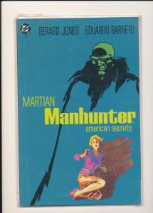 DC Comics Martian Manhunter American Secrets #1 F/VF(SIC617)