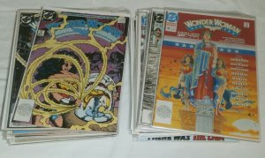 Wonder Woman V2 #33-62 Annual #2 Perez run 100% complete War of the Gods 33 iss.