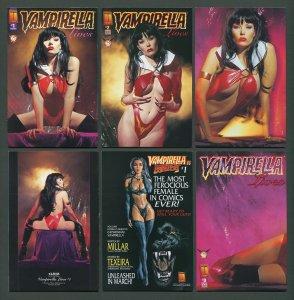 Vampirella LIVES  #1  #2  #3  (SET)    VFN/NM   1996