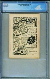 Army & Navy Fun #59 2/1953 CGC 7.5 pin-ups-gags-joke book 2118395002