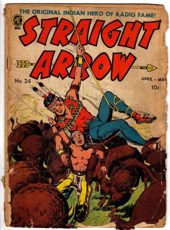 STRAIGHT ARROW 24 POOR April-May 1952