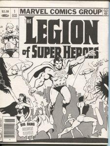 Legion Outpost #10  1981-Ray Thomas-Mike Barr-Len Wein-VF
