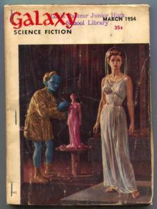 Galaxy Science Fiction March 1954- Telenizer reading copy
