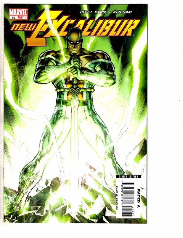 10 Marvel Comics New Excalibur # 10 11 12 13 14 18 19 20 + New Invaders #5 7 RC1