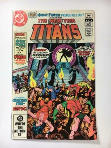 NEW TEEN TITANS #21, VF/NM, Brother Blood, Robin, DC 1980 1982  more in store