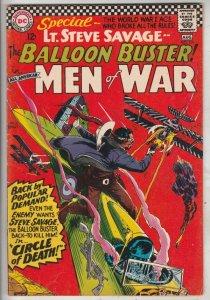 All-American Men of War #116 (Aug-66) VF/NM High-Grade Lt Steve Savage Balloo...