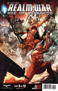 Grimm Fairy Tales presents Realm War Age of Darkness #3, NM (Stock photo)