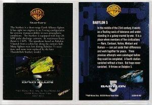 Farscape Series 2 /Babylon  5 Trading Cards