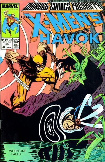 Marvel Comics Presents 1988 series # 20 near mint comic book