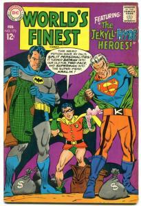 WORLDS FINEST #173 1966- TWO-FACE appears -DC COMICS-BATMAN-SUPERMAN