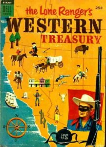 Lone Ranger's Western Treasury #2 GD; Dell   low grade comic - save on shipping