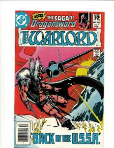 10 The Warlord DC Comic Books #52 53 54 55 56 57 58 59 60 61 JF12