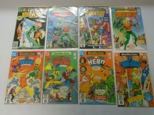 Adventure Comics lot 16 different issues 8.0 VF (1980-82)