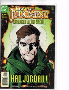 DC Comics (1999) Day of Judgment #5 Hal Jordan becomes The Spectre Last Issue