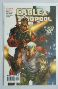Cable & Deadpool #5 Direct Edition 7.0 (2004)