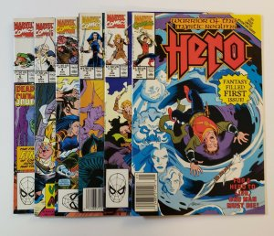 Hero: Warrior Of The Mystic Realms #1-6 Complete Set Marvel Comics 1990 VF/NM