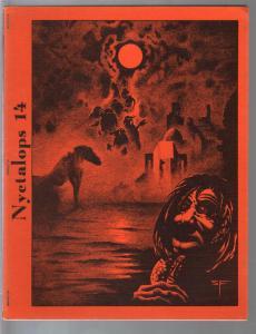 Nyctalops #14 1978-sci-fi-pulp-fantasy-Steven fabian-FN