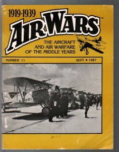 Air Wars #11 1987-Aircraft & air warfare of the middle years 1919-39-Boeing F4B-