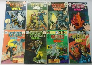 Weird War Tales Comic Lot From:#10-124 (Last Issue) 40 Diff Avg 4.0 VG (1973-83)
