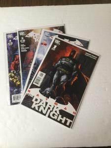 Batman The Dark Knight 1 2 3 4 Finch Series Nm Near Mint
