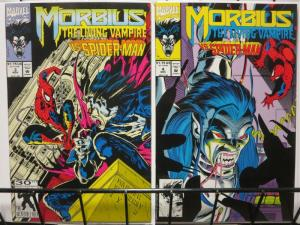 MORBIUS (1992) 3-4 vs Spiderman complete story arc!