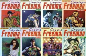 CRYING FREEMAN PART 4 (1992 VIZ) 1-8  KOIKE &  IKEGAMI