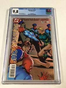 Showcase '96 96 1996 Issue 3 Cgc 9.8 White Pages 1st Birds Of Prey Dc Comics