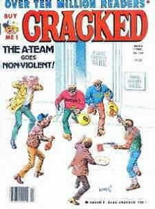 Cracked #210 VG; Globe   low grade comic - save on shipping - details inside